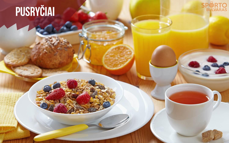 Trumpai apie pusryčius