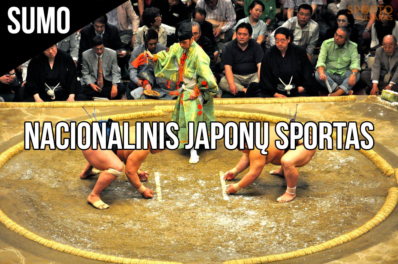 Nacionalinis japonų sportas – sumo